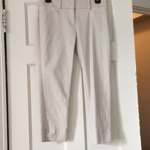 Khaki Crop Pants